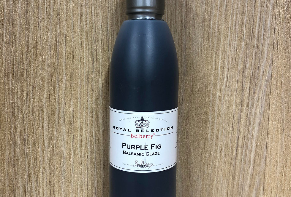 BELBERRY - Purple Fig Balsamic Glaze  200ml