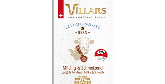 VILLARS - Swiss Milk Chocolate Bern 100g