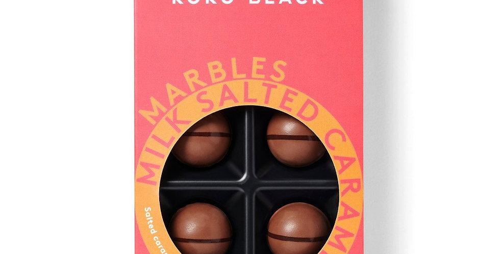 KOKO BLACK - Salted Caramel Milk Chocolate Marbles