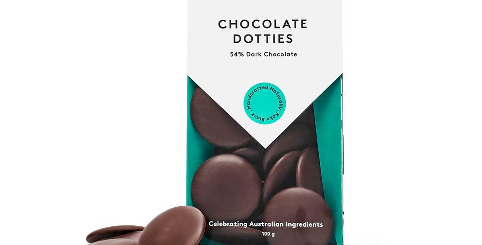 KOKO BLACK - Chocolate Dotties Dark 100g