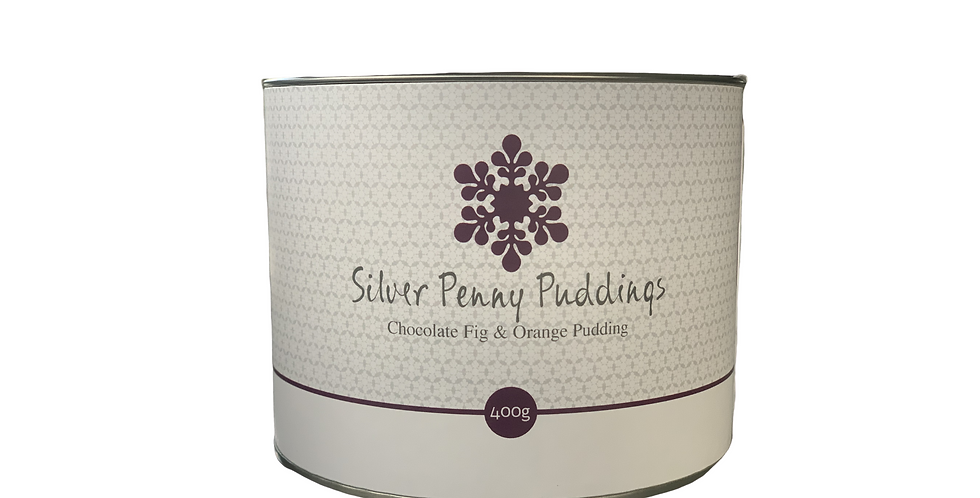 SILVER PENNY PUDDINGS - Chocolate Fig & Orange Pudding 400g