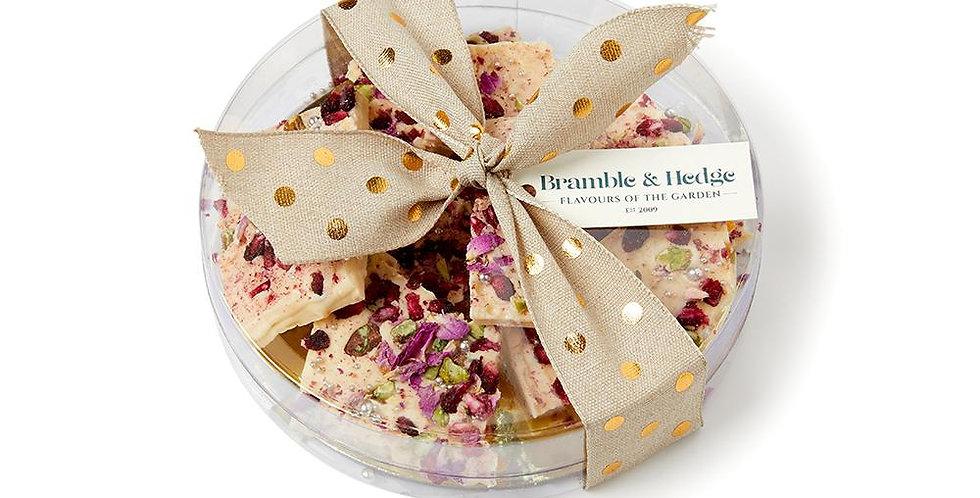BRAMBLE & HEDGE - Pomegranate, Orange & Pistachio Chocolate Tiles