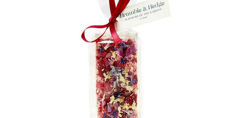 BRAMBLE & HEDGE - Wild Raspberry & Cointreau Belgian White Chocolate Nougat