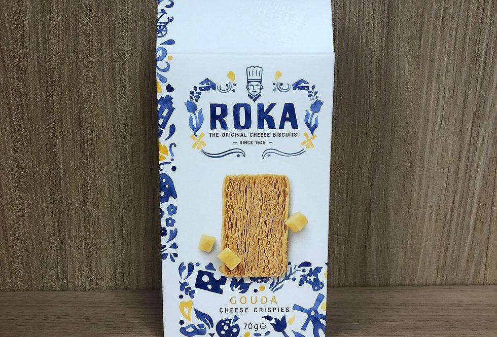 ROKA - Gouda Cheese Crispies 70g