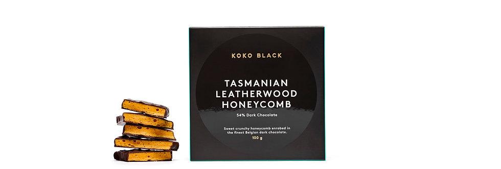 KOKO BLACK - Leatherwood Honeycomb Dark 100g