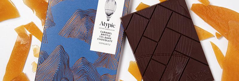 ATYPIC CHOCOLATE - 72% Dark Caramel Brittle