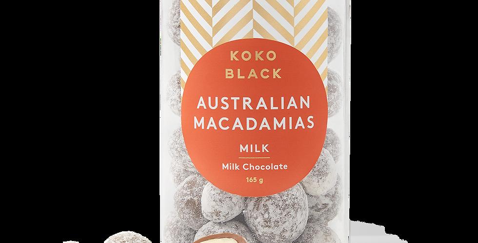 KOKO BLACK - Milk Chocolate Macadamias
