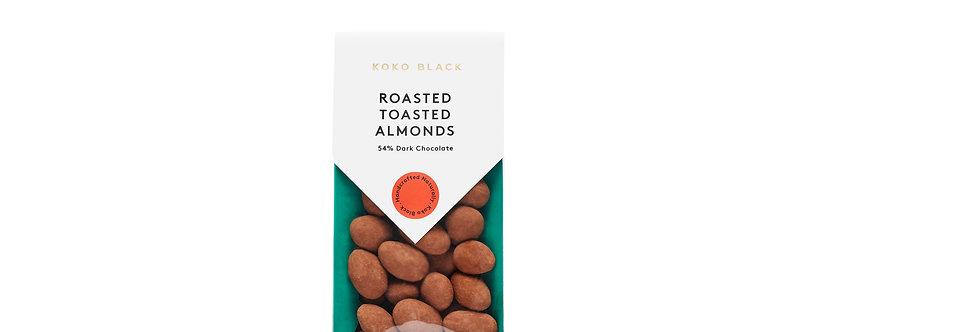 KOKO BLACK - Roasted Toasted Almonds Dark 100g
