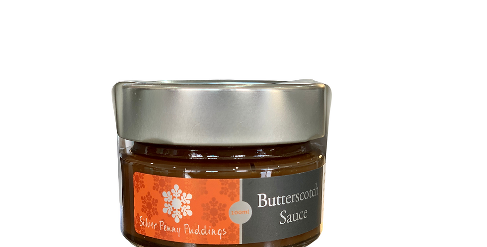 SILVER PENNY PUDDINGS -   Butterscotch Sauce 100ml