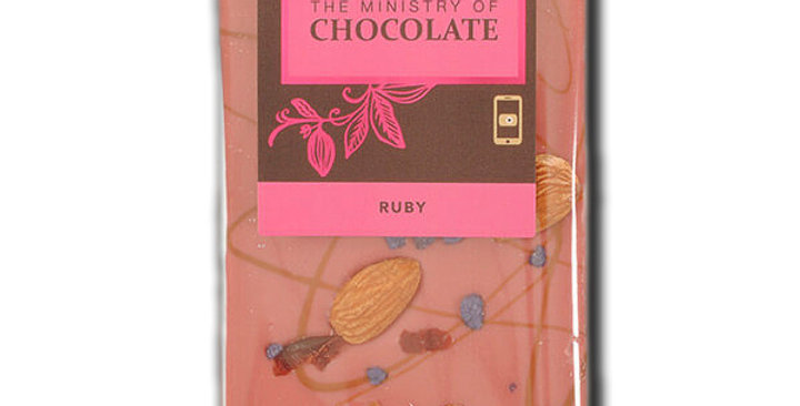 MINISTRY OF CHOCOLATE - Ruby 100g