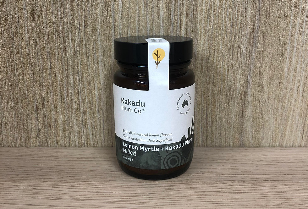 KAKADU PLUM - Lemon Myrtle & Kakadu Plum 45g