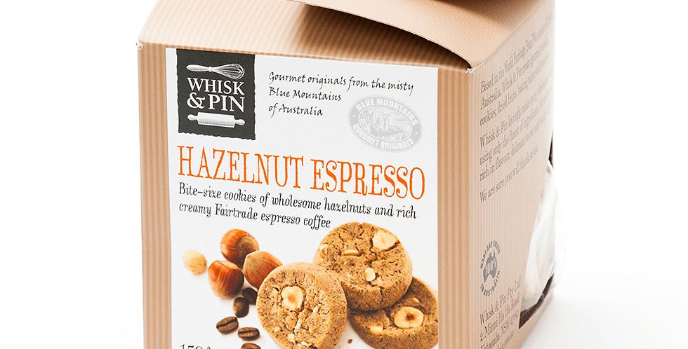 WHISK & PIN - Hazelnut Espresso Biscuits 150g