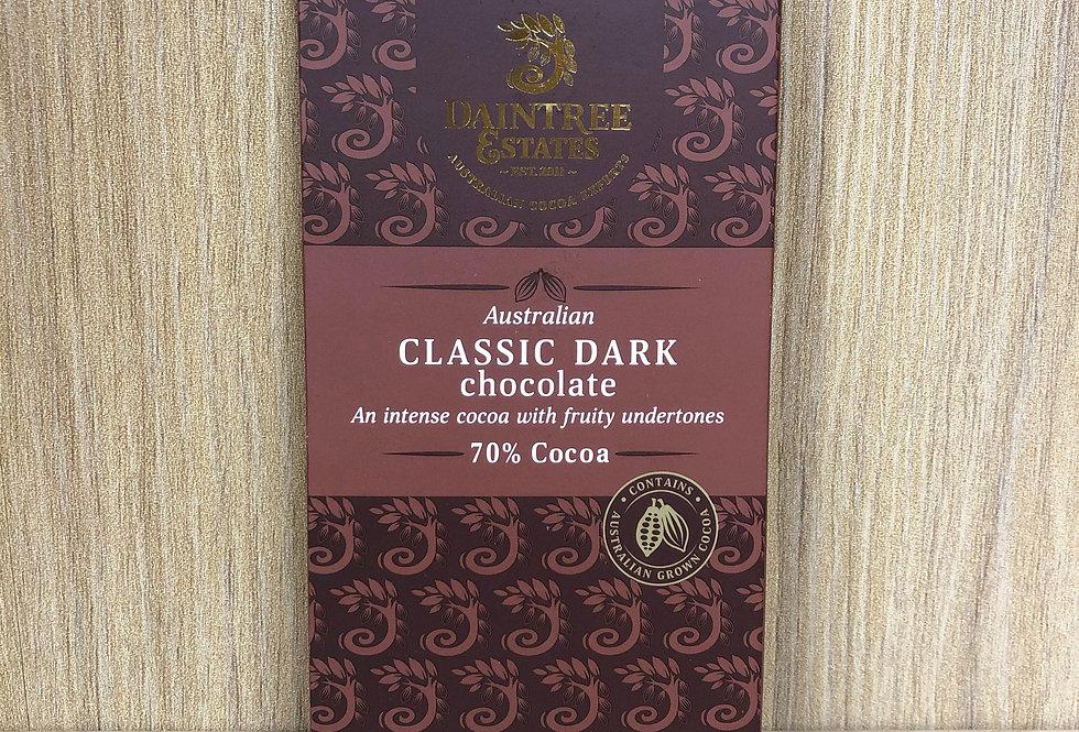 DAINTREE ESTATES - Australian Classic Dark 70% Cocoa 80g