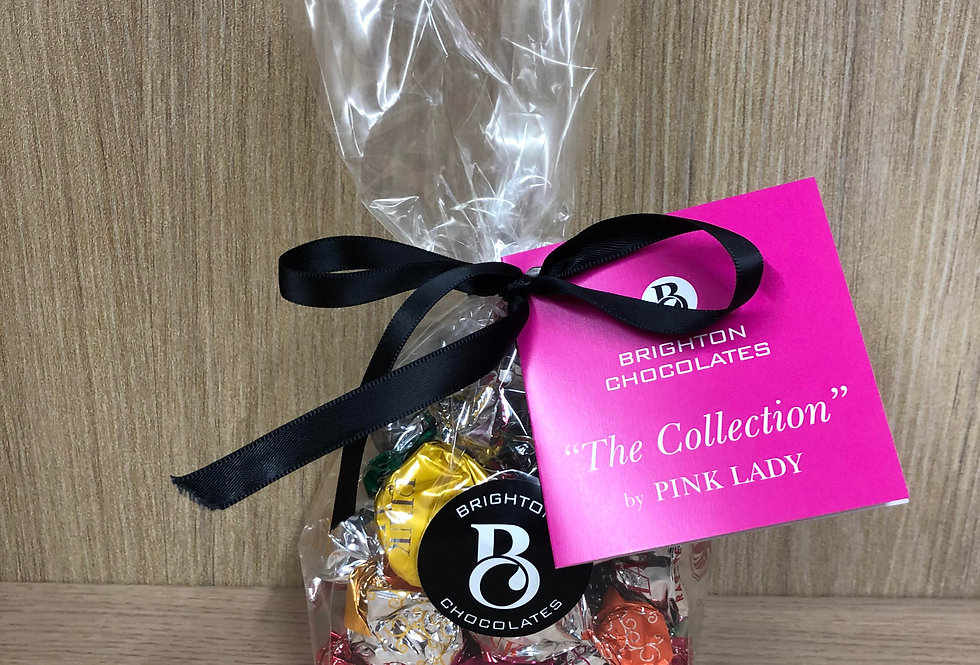 PINK LADY - The Collection, Twist Wrap Chocolates 28-Pack