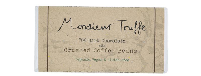 MONSIEUR TRUFFE - Crushed Coffee Beans 70%