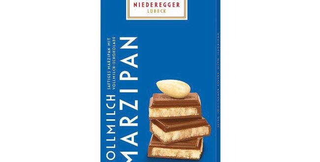 NIEDEREGGER - Marzipan Chocolate Bar Milk 110g