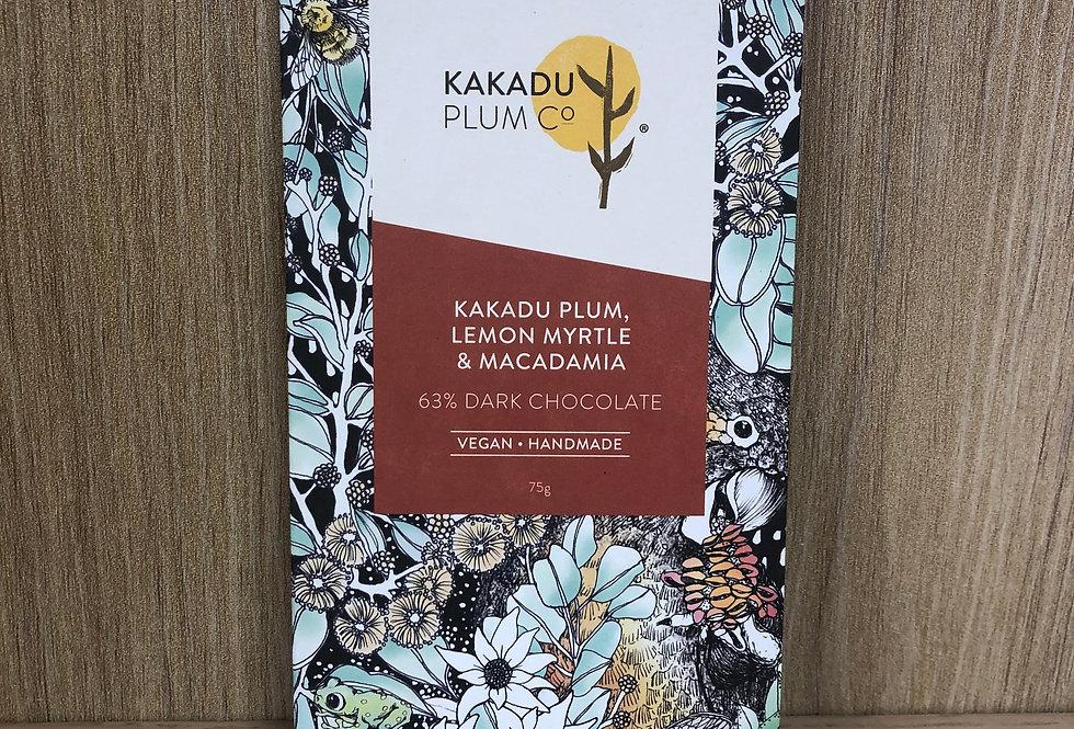 KAKADU PLUM - Kakadu Plum, Lemon Myrtle & Macadamia - Dark  70g