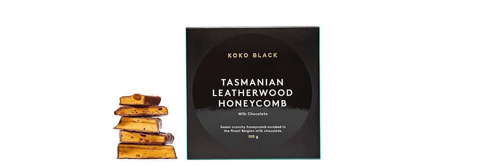 KOKO BLACK - Leatherwood Honeycomb Milk 100g