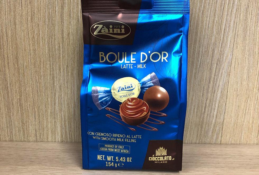 ZAINI - Boule D'Or Latte Milk 154g