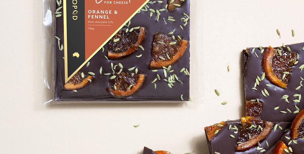 KOKOPOD - Orange & Fennell Grazing 100g
