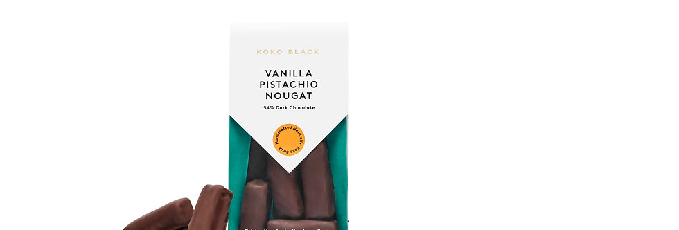 KOKO BLACK - Vanilla Pistachio Nougat Dark 100g
