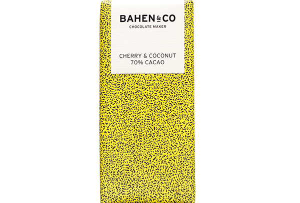 BAHEN - Cherry & Coconut 70% Cacao 75g