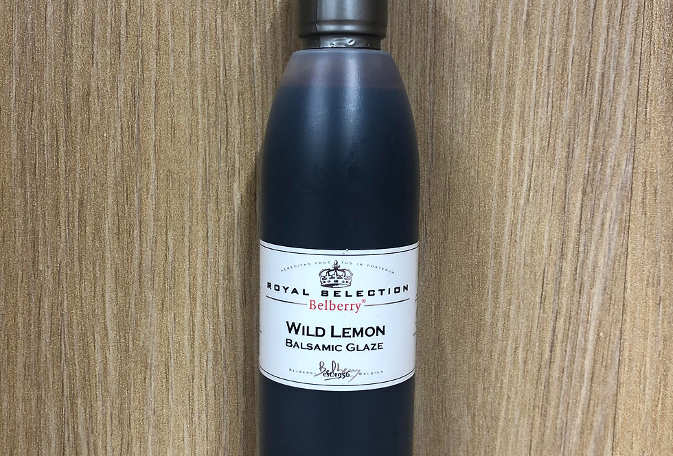 BELBERRY - Wild Lemon Balsamic Glaze  200ml