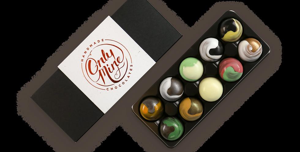 ONLY MINE - Handmade Chocolates 10-pack