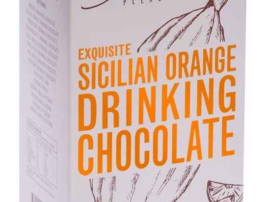 GROUNDED PLEASURES - Orange Drinking Chocolate 200g