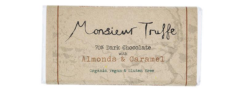 MONSIEUR TRUFFE - Almonds & Caramel 70%