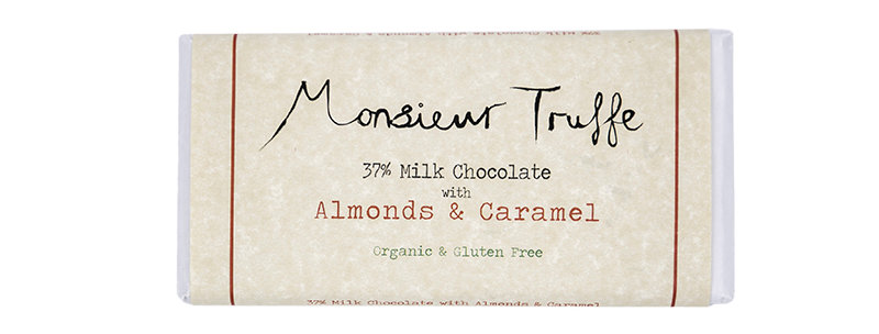 MONSIEUR TRUFFE - Almonds & Caramel 37%