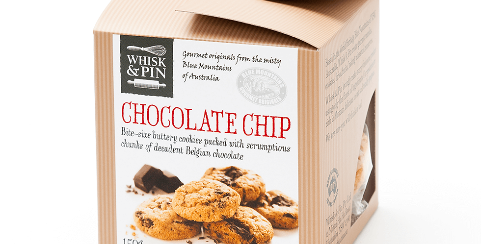 WHISK & PIN - Chocolate Chip Biscuits 150g