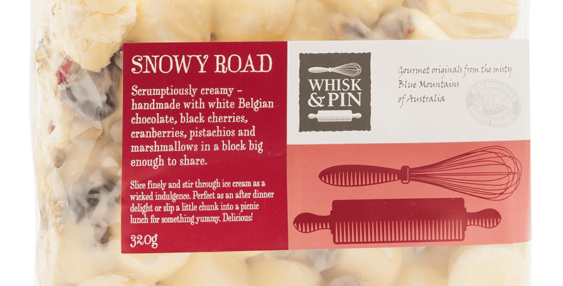 WHISK & PIN - Snowy Road Block 320g