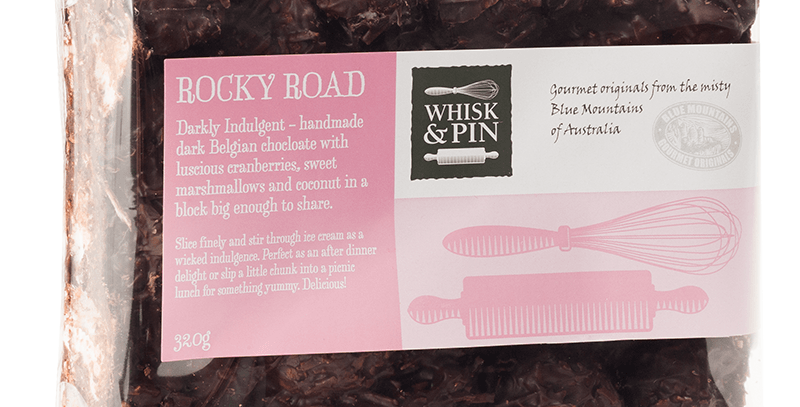 WHISK & PIN - Rocky Road Block 320g