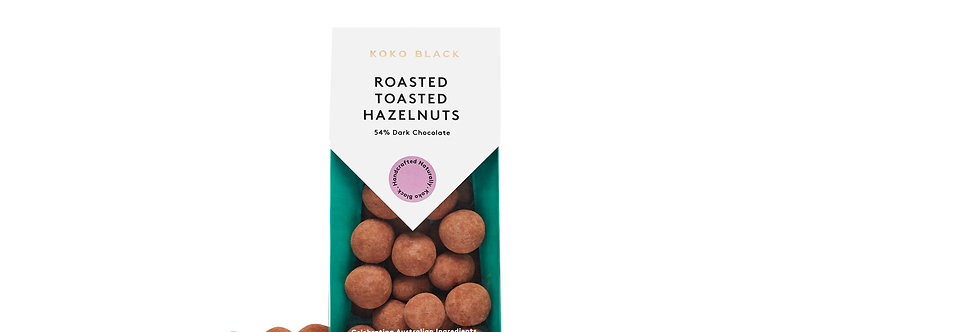 KOKO BLACK - Roasted Toasted Hazelnuts Dark 100g