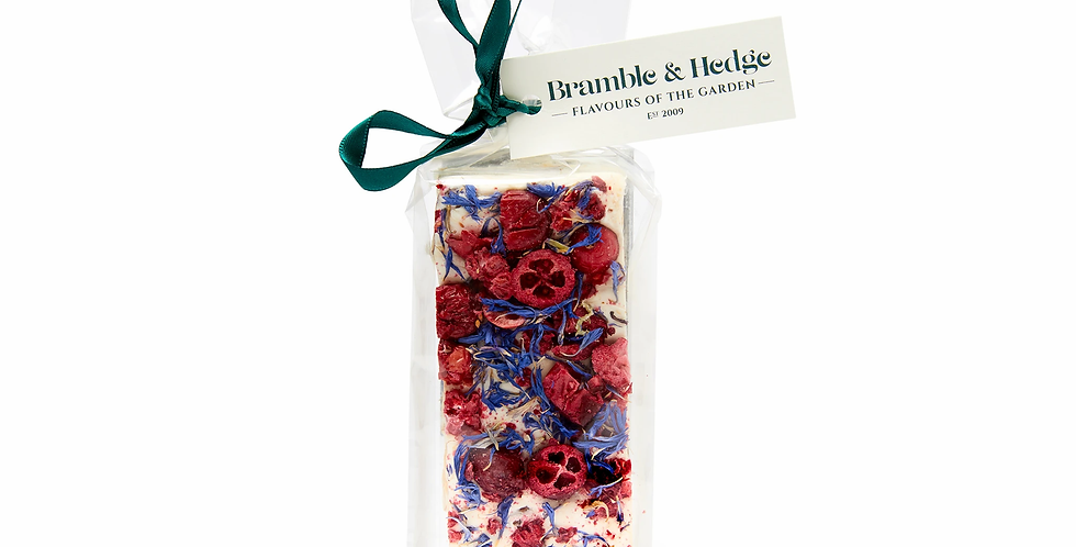 BRAMBLE & HEDGE - Cranberry Raspberry Orange Nougat150g