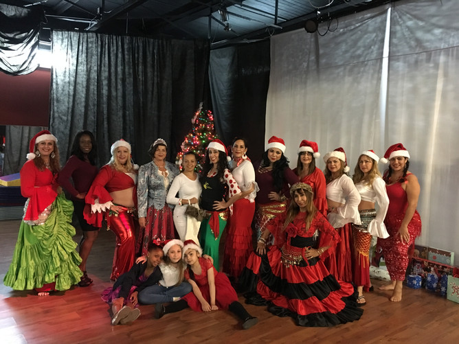Fusion Gitana Holiday Showcase.