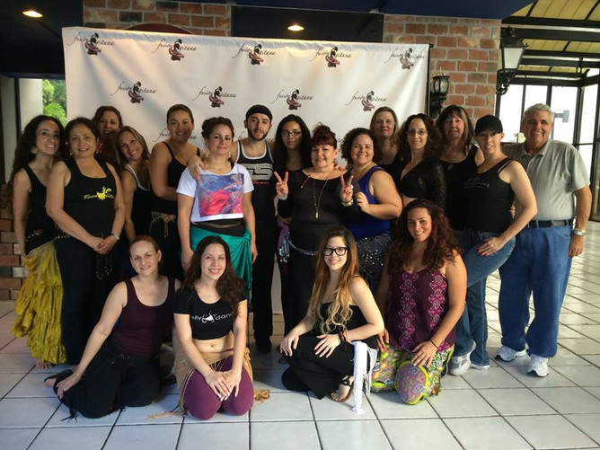 Belly Dance workshop with Lebanese Simon