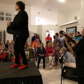 Flamenco show in Doral.
