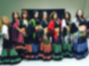shawl manton fusion gitana
