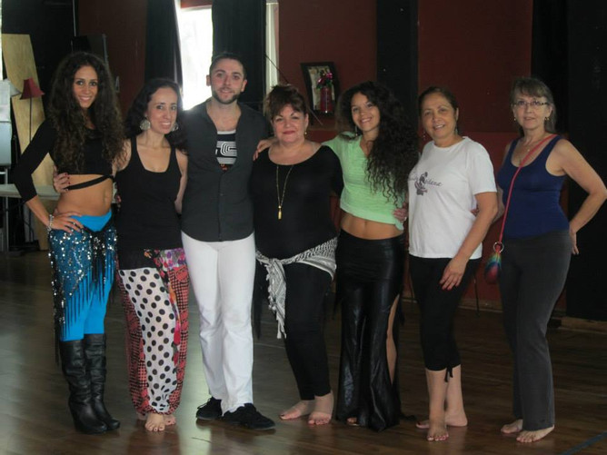 Belly Dance workshops with Lebanese Simon!