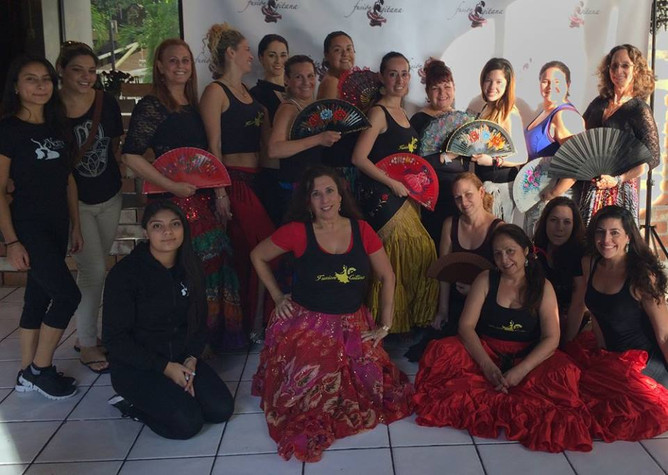 Flamenco Arabe workshop with Zizi Zabaneh