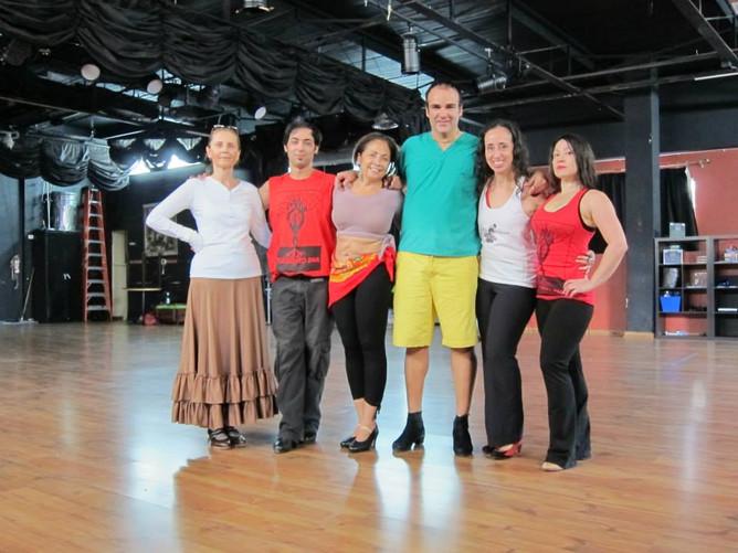 Flamenco Workshop with Antonio Arrebola