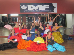 Flamenco Arabe class