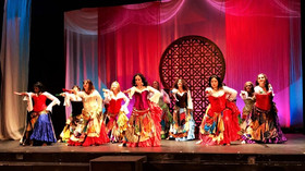 Fusion Gitana performs at Middle Eastern Mosaic