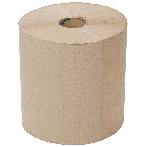 "8"" Brown Paper Towels"