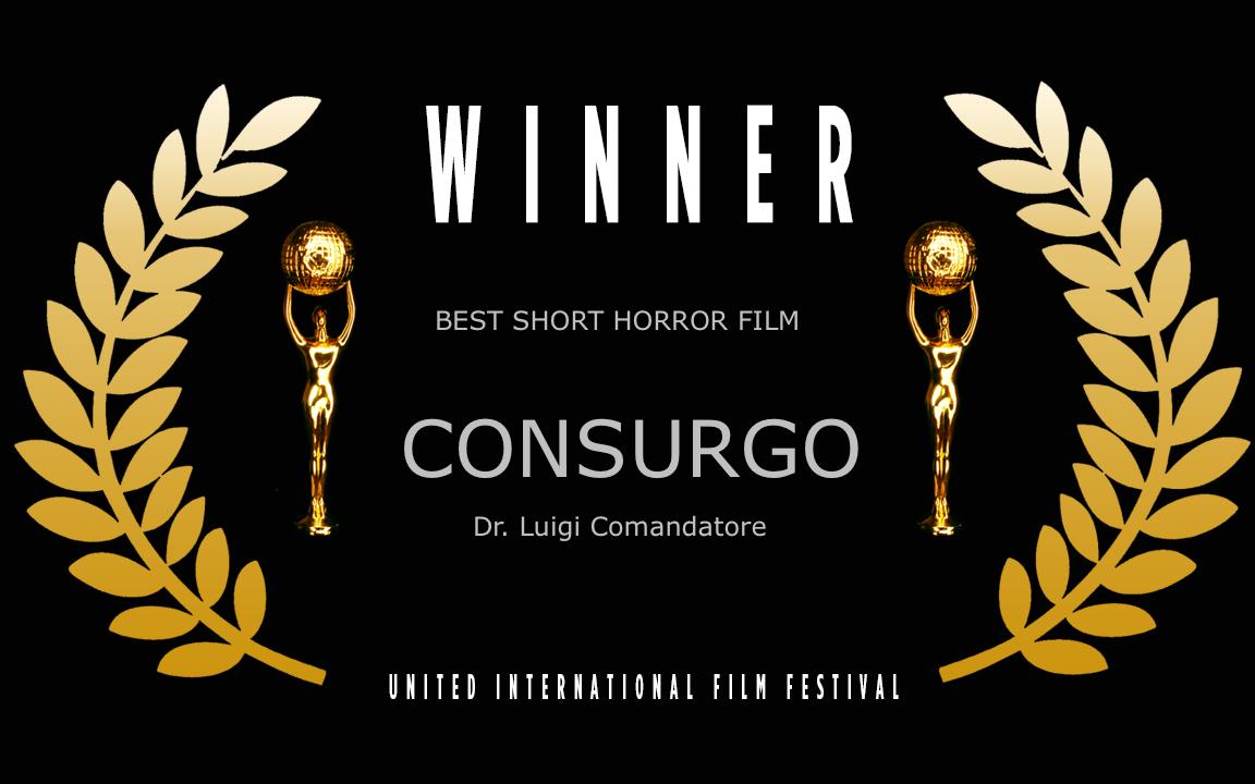 Best Short Horror Film CONSURGO Winner
