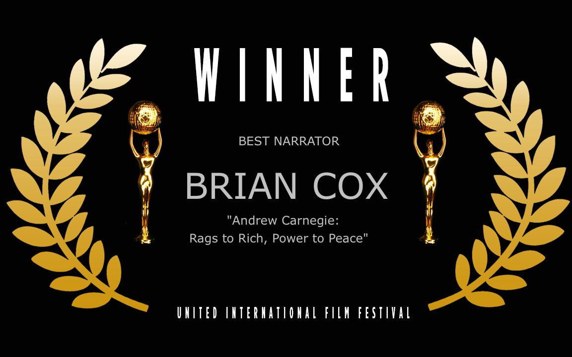 Best Narrator - WINNER UIFF official festival Laurel copy