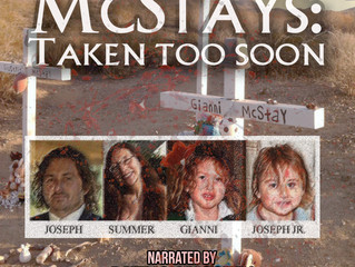Audiobook Version of McStays, Taken Too Soon, Narrated by Patrick McStay
