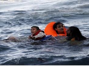 ⚫ غرق مركب يقل 45 لاجئا سوريا أثناء توجهه إلى إيطاليا